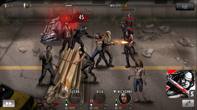 Walking Dead � Road to Survival © Scopely