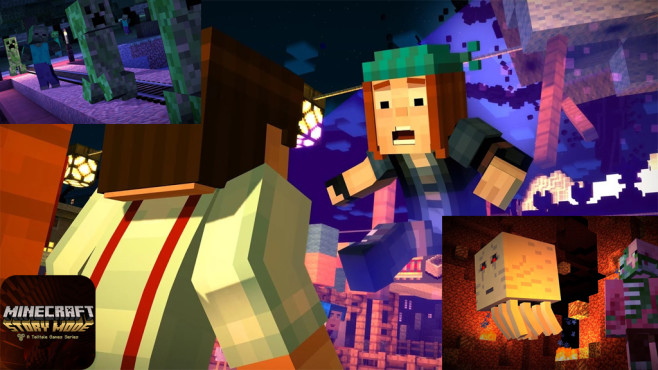 Minecraft – Story Mode © Telltale Games