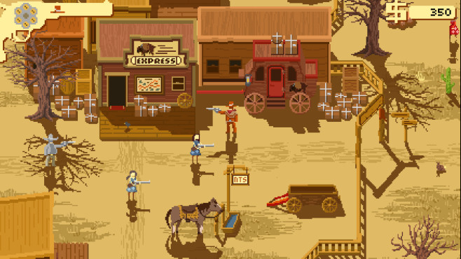 Westerado – Double Barreled © Adult Swim Games