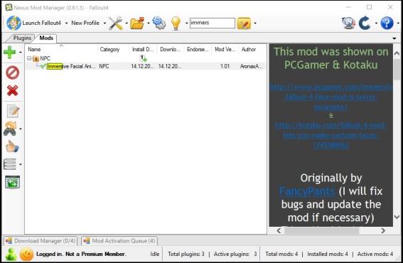 Fallout 4 Mods installieren ©COMPUTER BILD SPIELE/Nexus Mods