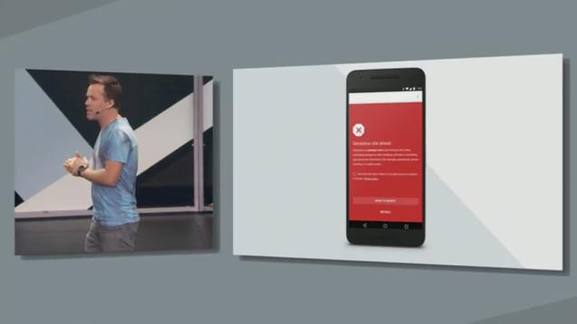 Android N Sicherheit ©Google