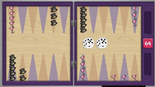 Neujahrs-Backgammon: Feierliches Strategie- und Gl�cksspiel ©COMPUTER BILD