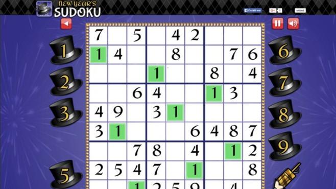 Neujahrs-Sudoku: R�tselspa� f�r Zahlenfreunde ©COMPUTER BILD