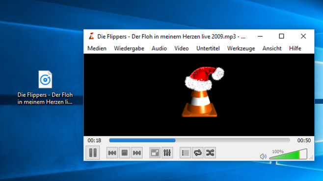 VLC Media Player: Party-Hits abspielen © COMPUTER BILD