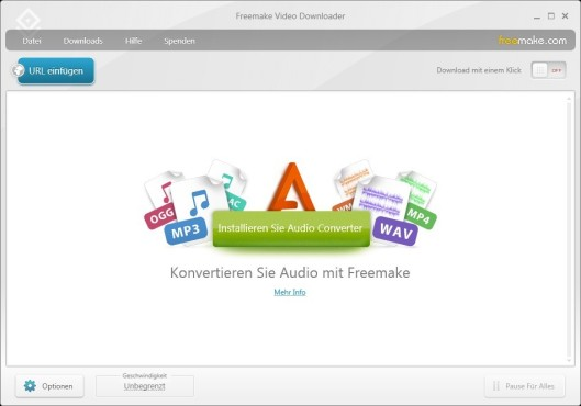 Freemake Video Converter © COMPUTER BILD