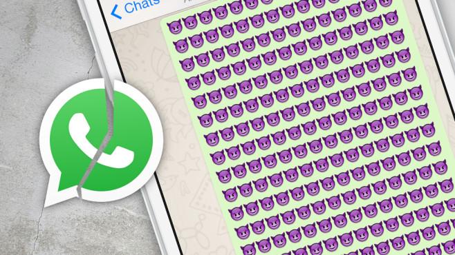 WhatsApp: Killernachricht führt zum Absturz ©WhatsApp