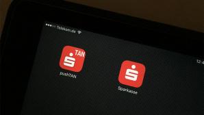 Sparkassen-Apps auf dem iPad ©COMPUTER BILD