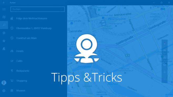 Windows Karten ©Microsoft, Montage: COMPUTER BILD