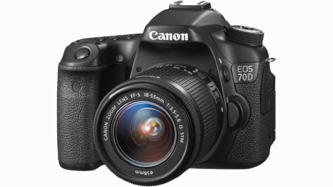 Canon EOS 70D Kit 18-55 mm Canon IS STM ©Media Markt