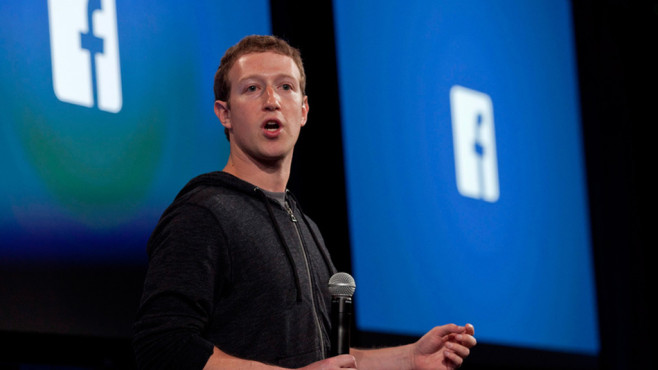 Facebook-CEO Mark Zuckerberg © dpa-Bildfunk