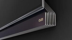 Das beste Fernsehbild aller Zeiten: Neuer LG OLED G6 im Test Zur Montage an der Wand lässt sich am LG OLEDG6 der Lautsprecher um 90 Grad hinter das OLED-Display klappen. ©LG