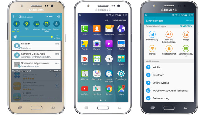 Samsung Galaxy J5 ©Samsung, COMPUTER BILD