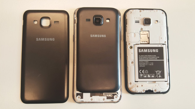 Samsung Galaxy J5 vs Galaxy J1 ©COMPUTER BILD