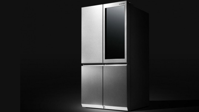 signature fridge k hlschrank von lg computer bild. Black Bedroom Furniture Sets. Home Design Ideas