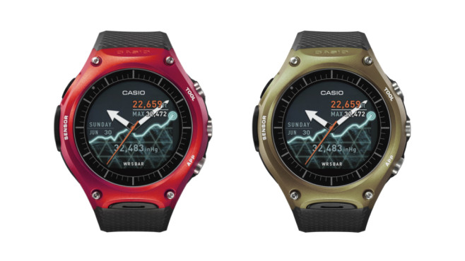 Casio WSD-F10 © Casio