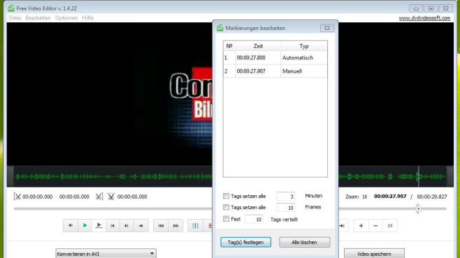 Platz 50: Free Video Editor (neu) ©COMPUTER BILD