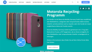 Motorola: Internetseite ©Motorola/Lenovo