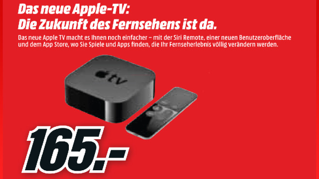 Apple TV 4 (32GB) © Media Markt