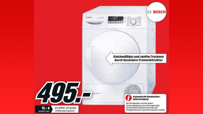 Bosch WTW 83260 ©Media Markt