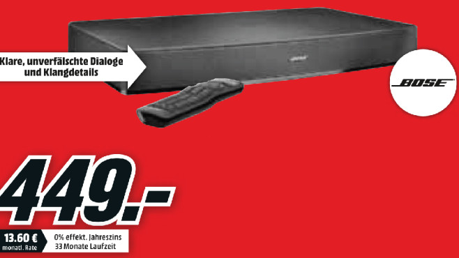 Bose Solo 15 Series II TV Sound System © Media Markt