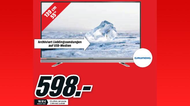 Grundig 55 VLE 6522 BL ©Media Markt
