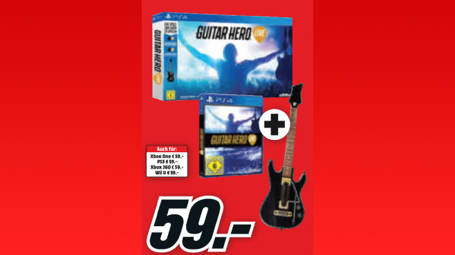 Guitar Hero: Live (PS4) © Media Markt