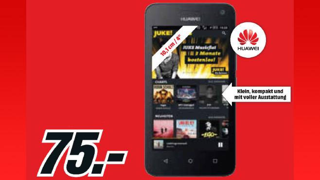 Huawei Y3 ©Media Markt