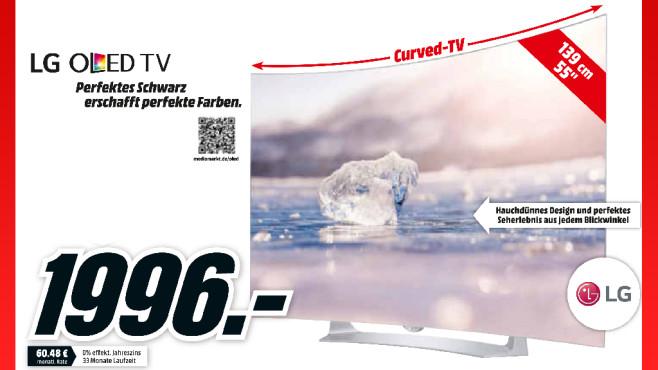 LG 55EG9109 ©Media Markt