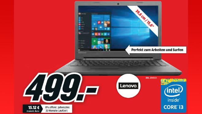 Lenovo IdeaPad 100-15IBD ©Media Markt
