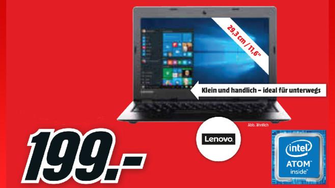 Lenovo IdeaPad 100S-11IBY (80R2002J) ©Media Markt