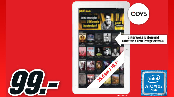 Odys Score plus 3G ©Media Markt
