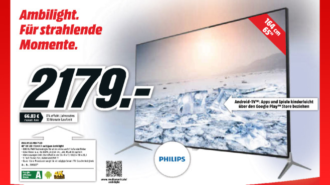 Philips 65PUK7120 © Media Markt