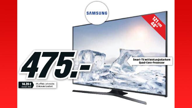 Samsung UE48J5670 ©Media Markt