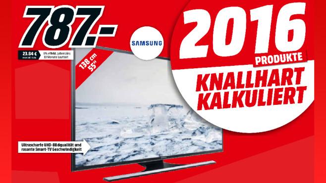 Samsung UE55JU6450 ©Media Markt