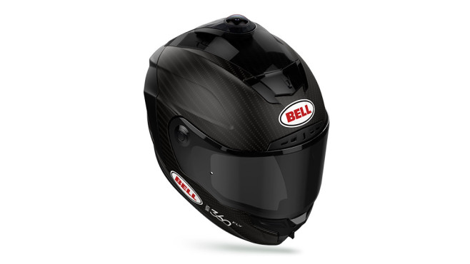 360Fly und Bell Motorradhelm mit Action-Cam © 360Fly, Bell