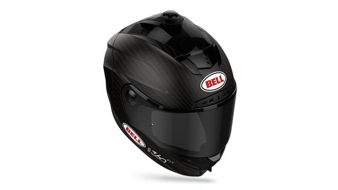 360Fly und Bell Motorradhelm mit Action-Cam ©360Fly, Bell