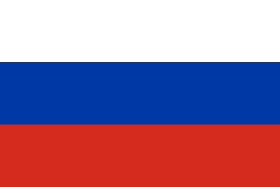 Russische Flagge © Wikipedia