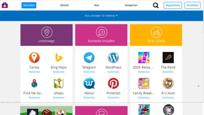 Firefox Marketplace©COMPUTER BILD