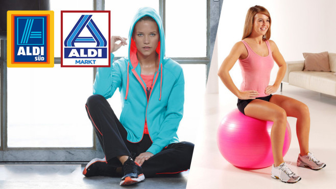 Fitness-Angebote von Aldi ©Aldi, COMPUTER BILD