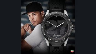 TAG Heuer Connected mit Giancarlo Stanton © TAG Heuer