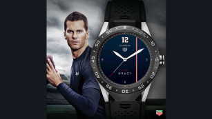 TAG Heuer Connected mit Tom Brady © TAG Heuer