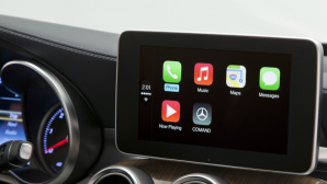 Mercedes A Klasse mit Apple CarPlay ©Mercedes