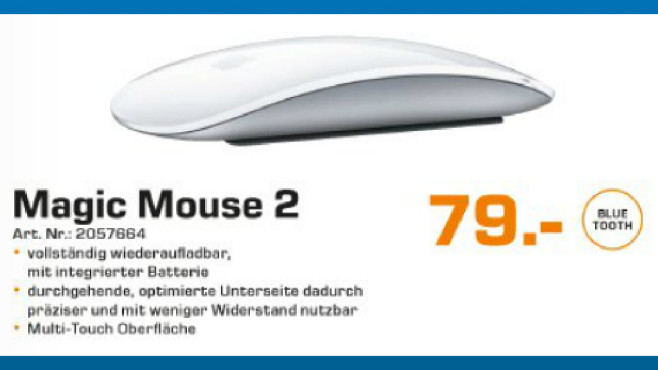 Apple Magic Mouse 2 © Saturn