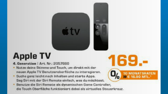 Apple TV 4 (32GB) © Saturn