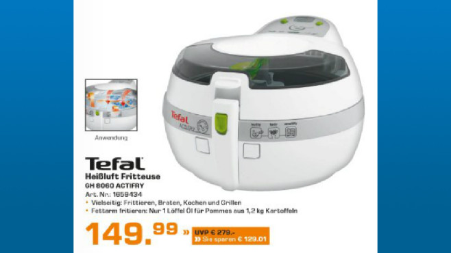 Tefal ActiFry Plus (GH 8060) © Saturn