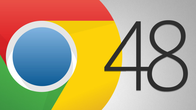Google Chrome 48 © Google