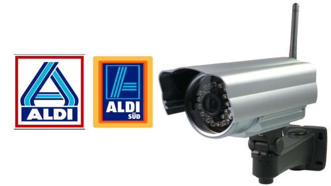 IP-Sicherheitskamera Maginon ©Aldi