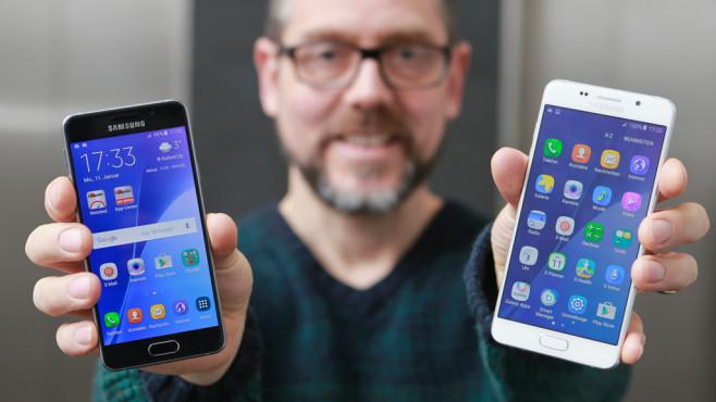 Samsung Galaxy A3 (2016) Galaxy A5 (2016) ©COMPUTER BILD