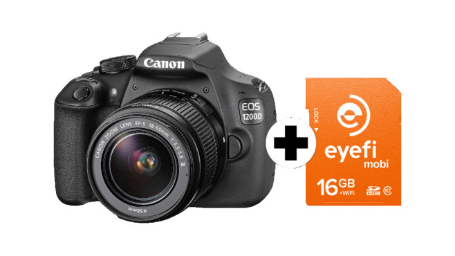 Canon EOS 1200D Kit 18-55 mm Canon IS II © Media Markt
