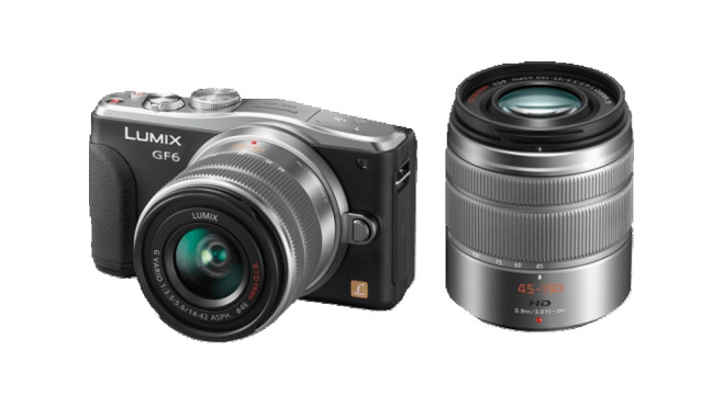 Panasonic Lumix DMC-GF6 Kit 14-42 mm + 45-150 mm © Media Markt